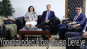 MASKİ Yönetiminden Albay Güven Dere'ye Ziyaret