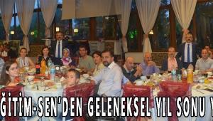 Türk Eğitim-Sen'den geleneksel yıl sonu yemeği