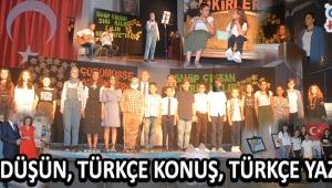 Türkçe Oku, Türkçe Konuş, Türkçe Yaz !