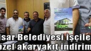 Akhisar Belediyesi işçilerine özel akaryakıt indirimi