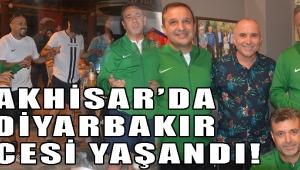 AKHİSAR'DA DİYARBAKIR GECESİ YAŞANDI!