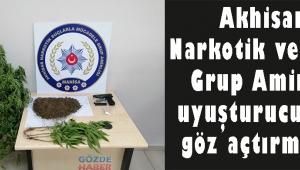 Akhisar Narkotik ve KOM Grup Amirliği uyuşturuculara göz açtırmıyor!