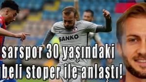 Akhisarspor 30 yaşındaki tecrübeli stoper ile anlaştı!