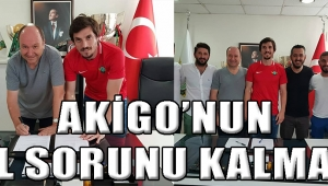 AKİGO'NUN GOL SORUNU KALMADI!