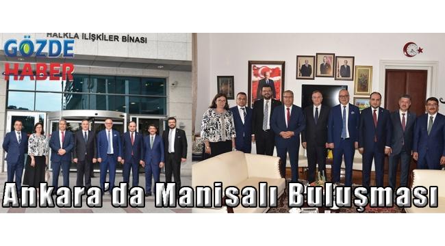 Ankara'da Manisalı Buluşması