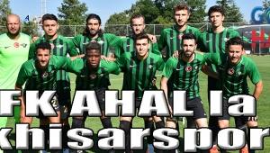 FK AHAL la 1 Akhisarspor 0