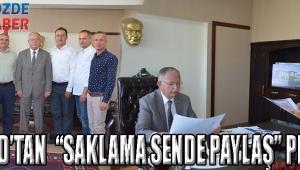 "AKGİAD'TAN ""SAKLAMA SENDE PAYLAŞ"" PROJESİ"