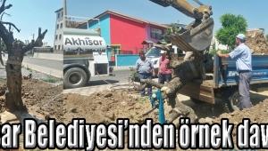 Akhisar Belediyesi'nden örnek davranış
