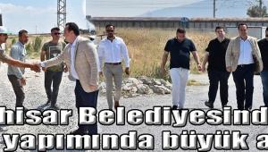- Akhisar Belediyesinden yol yapımında büyük atak