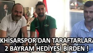 Akhisarspor'dan Taraftarlara 2 Bayram Hediyesi Birden !