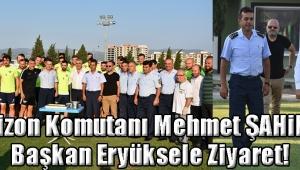 Garnizon Komutanı Mehmet ŞAHiN'den Başkan Eryüksele Ziyaret!