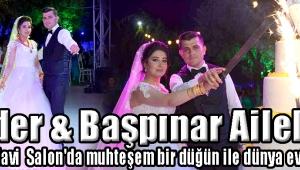 Güder & Başpınar Aileleri Ütopia Mavi Salon'da muhteşem bir düğün ile dünya evine girdi
