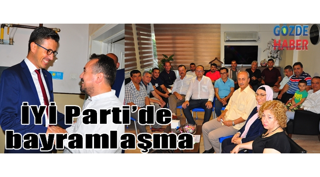 İYİ Parti'de bayramlaşma
