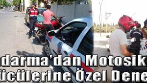 Jandarma'dan Motosiklet Sürücülerine Özel Denetim
