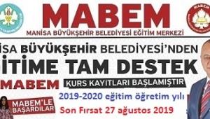 MABEM YKS-LGS GİRİŞ SINAVINI KAÇIRANLARA SON FIRSAT