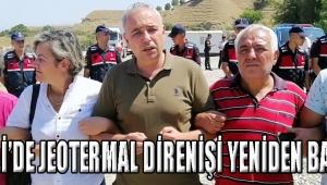 SALİHLİ'DE JEOTERMAL DİRENİŞİ YENİDEN BAŞLADI