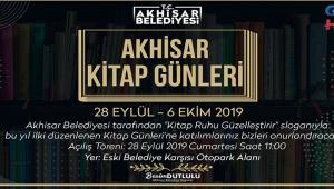 Akhisar Belediyesi Kitap Günleri başlıyor