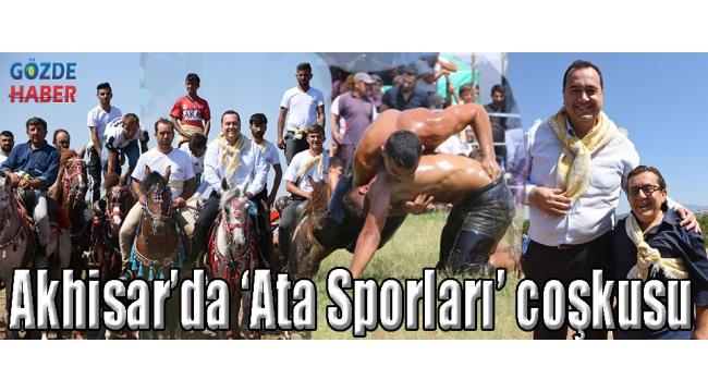 Akhisar'da 'Ata Sporları' coşkusu