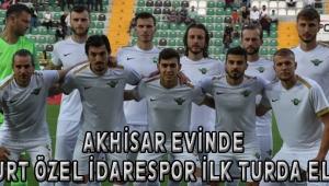 Akhisar Evinde Bayburt Özel İdarespor İlk Turda Elendi!