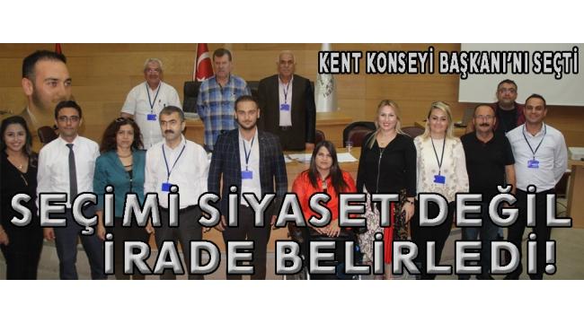 Akhisar Kent Konseyi'nin yeni başkanı Mustafa Özdemir oldu