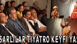 Akhisarlılar tiyatro keyfi yaşadı
