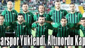 Akhisarspor Yüklendi, Altınordu Kapandı!