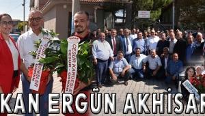 Başkan Ergün Akhisar'da