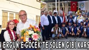 Başkan Ergün'e Göcek'te Şölen Gibi Karşılama