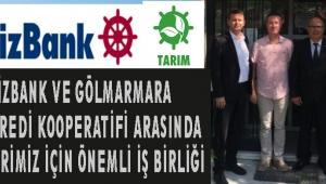 DenizBank ve Gölmarmara Tarım Kredi Kooperatifi arasında Çiftçilerimiz için önemli iş birliği