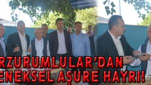 ERZURUMLULAR'DAN GELENEKSEL AŞURE HAYRI!