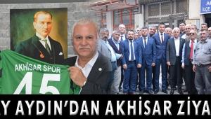 KORAY AYDIN'DAN AKHİSAR ZİYARETİ
