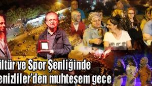 Kültür ve Spor Şenliğinde 'Karadenizliler'den muhteşem gece