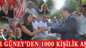 Pınar Güney'den 1000 Kişilik Aşure