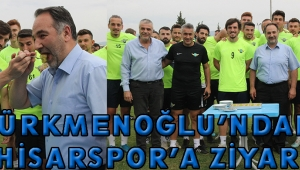 Türkmenoğlu'ndan Akhisarspor'a Ziyaret!
