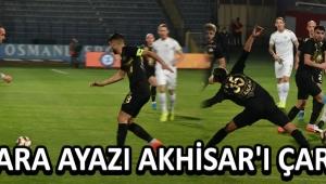 Ankara Ayazı Akhisar'ı Çarptı !