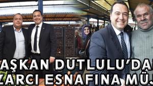 Başkan Dutlulu'dan pazarcı esnafına müjde