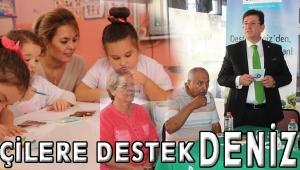 ÇİFTÇİLERE DESTEK DENİZ'DE
