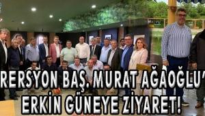 Federersyon Baş. Murat Ağaoğlu'ndan Erkin Güneye Ziyaret!