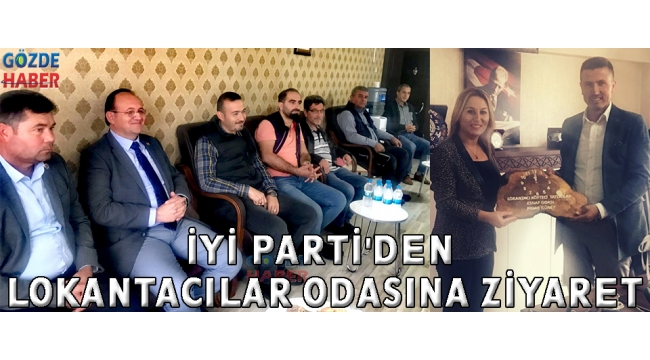 İYİ Parti' Lokantacılar Odasına Ziyaret