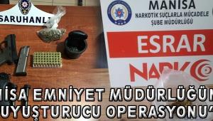 """""""Manisa Emniyet Müdürlüğünden Uyuşturucu Operasyonu"""""""