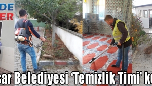 Akhisar Belediyesi 'Temizlik Timi' kurdu!