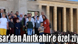 Akhisar'dan Anıtkabir'e özel ziyaret