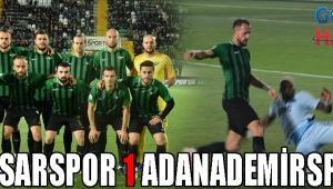 AKHİSARSPOR 1 ADANADEMİRSPOR 1
