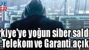 Türkiye'ye yoğun siber saldırı! Türk Telekom ve Garanti açıkladı!