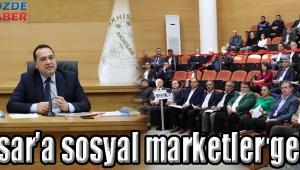 Akhisar'a sosyal marketler geliyor