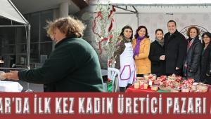 Akhisar'da ilk kez Kadın Üretici Pazarı açıldı!