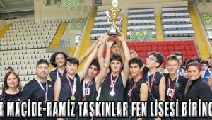 Akhisar Macide-Ramiz Taşkınlar Fen Lisesi birinci oldu!