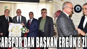 Akhisarspor'dan Başkan Ergün'e Ziyaret