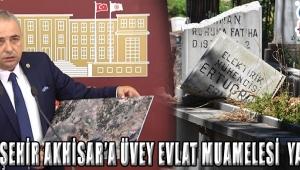 """""""BÜYÜKŞEHİR AKHİSAR'A ÜVEY EVLAT MUAMELESİ YAPIYOR"""""""