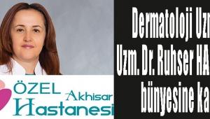 Dermatoloji Uzmanı Uzm. Dr. Ruhser HAROVA'yı bünyesine kattı.